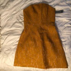 Keepsake strapless dress